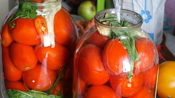 Thumbnail for Filling Jars For Canning Tomatoes