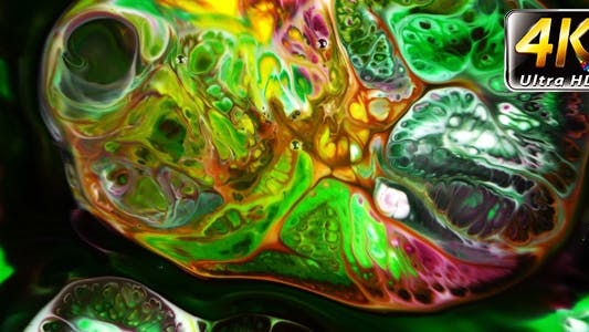 Thumbnail for Abstract Colorful Paint Ink Liquid Explode 19