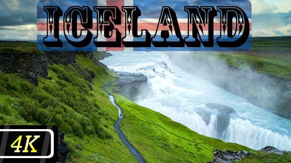 Thumbnail for Gullfoss Waterfall