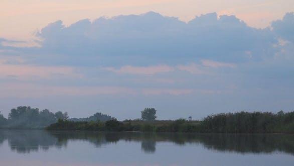 Thumbnail for Sunset on River
