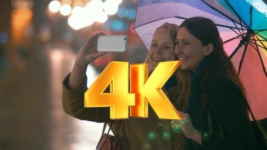 Thumbnail for Female Friends Taking Selfie On Smartphone
