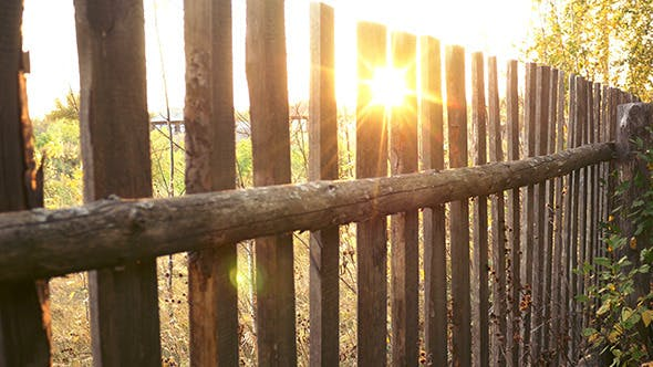 Thumbnail for Wooden Country Fence