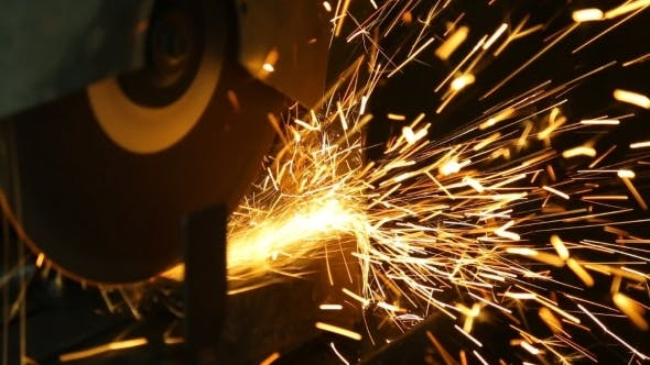 Thumbnail for Industrial Engineer Working On Cutting a Metal And
