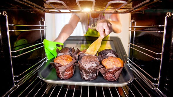 Thumbnail for Baking Muffins In The Oven
