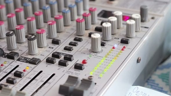 Thumbnail for Working With Sound Mixing Console.