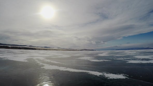 Thumbnail for Panorama of the Ice Surface 13931
