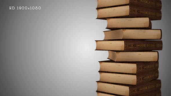A Stack of Books - Background 2
