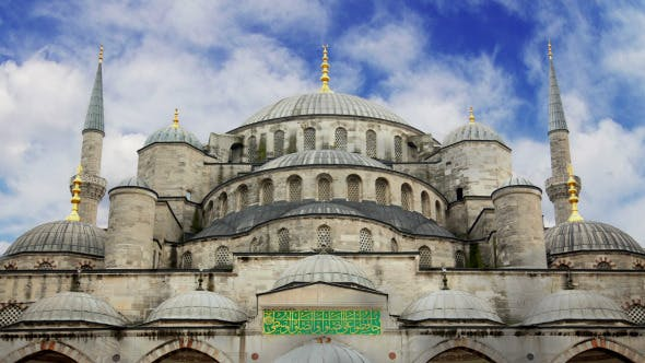 Thumbnail for Blue Mosque in Istanbul and Clouds