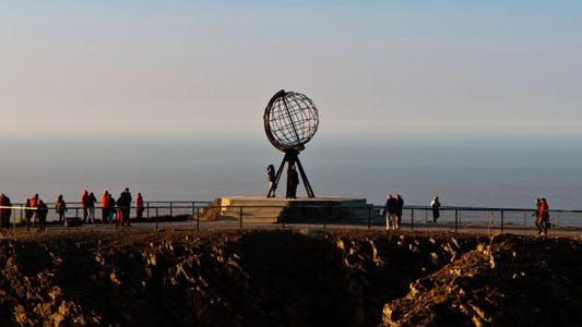 Thumbnail for Monument At The North Cape