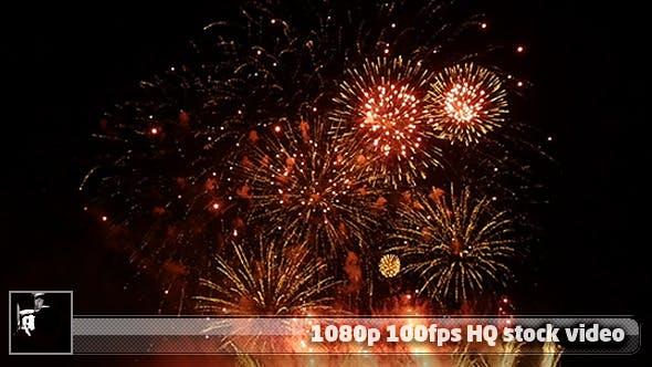 Echtes Feuerwerk