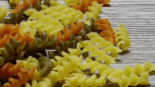 Thumbnail for Vegetable Pasta on Wooden Background