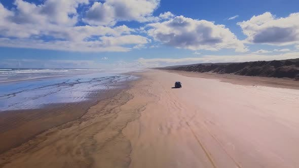 Thumbnail for Driving on the beach