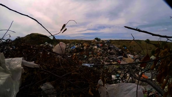 Thumbnail for Heaps Of Domestic Garbage At Landfill In Ukraine