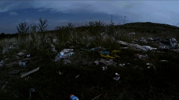 Thumbnail for Garbage Dump Scattered Around Roadside In Ukraine