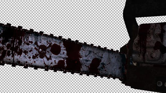 Flying Chainsaw - Bloody Slayer - 4K