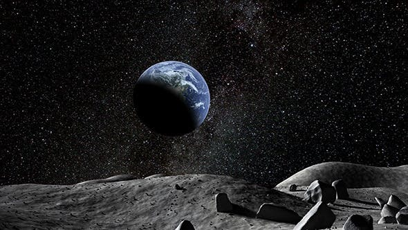 Thumbnail for Earth Seen From The Moon