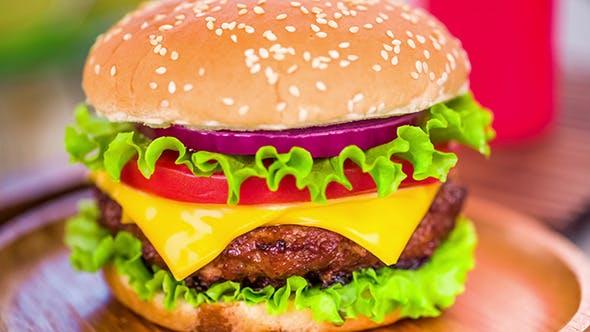Thumbnail for Schmackhaft Und appetitlich Hamburger Cheeseburger