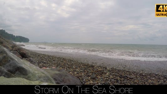 Thumbnail for Storm On The Sea Shore 4