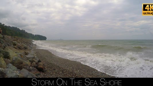 Cover Image for Storm On The Sea Shore 5