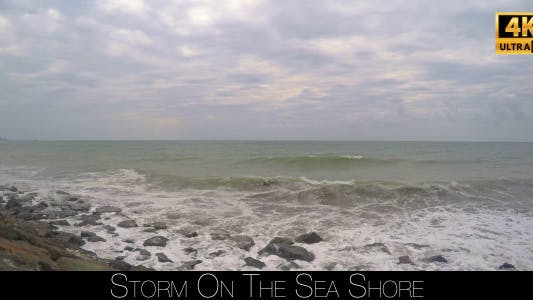 Thumbnail for Storm On The Sea Shore 6