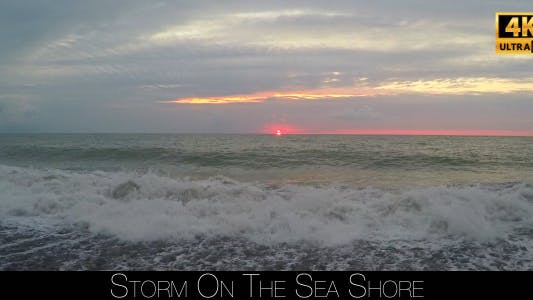 Cover Image for Storm On The Sea Shore 7
