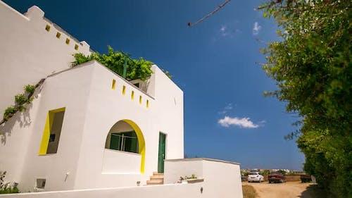 4K Timelapse at Naxos Island, Cyclades, Greece