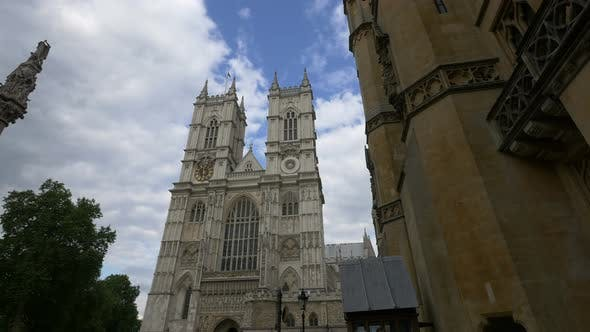 Thumbnail for Low angle of the famous Westminster Abbey