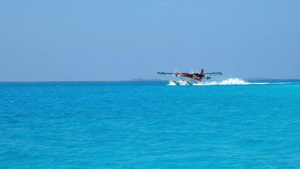 Thumbnail for Seaplane Makes Landing On Water