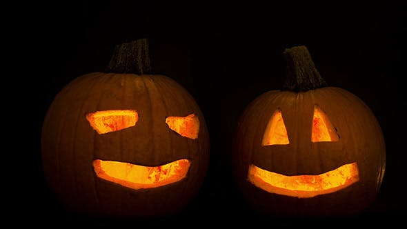 Thumbnail for Scary Halloween Pumpkins