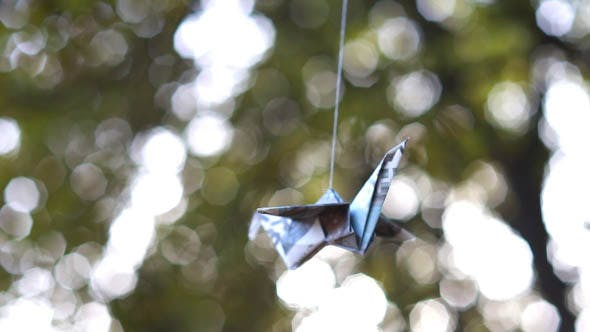 Paper Bird on the Tree