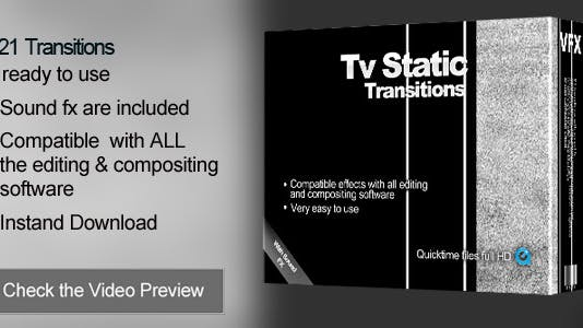 Transitions TV Static