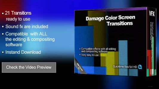 Thumbnail for Transitions Damage Color Screen