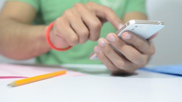 Thumbnail for Designer Using Smartphone