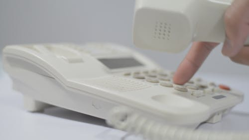 Dialing Number for Call