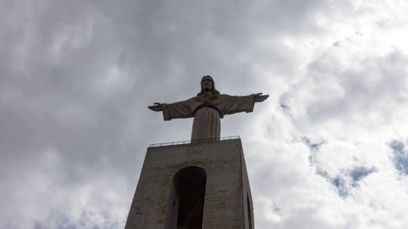Thumbnail for Jesus Christ Monument Cristo-Rei Lisboa In Lisbon
