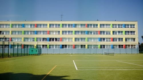 School And Sports Ground