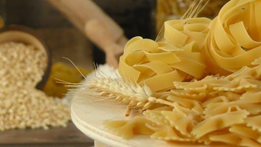 Makkaroni Pasta Gebäck 5