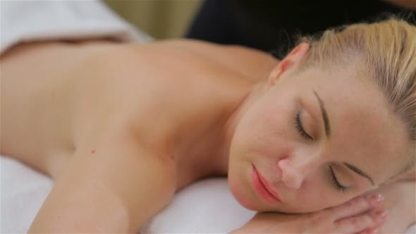 Thumbnail for Woman On Spa Massage Of Shoulder