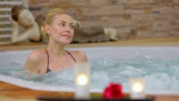 Thumbnail for Spa Resort Jacuzzi Hot Tub Woman
