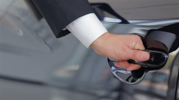 Thumbnail for Human Hand Opening Car Door