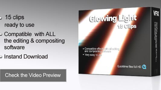 Thumbnail for Glowing Light Transitions
