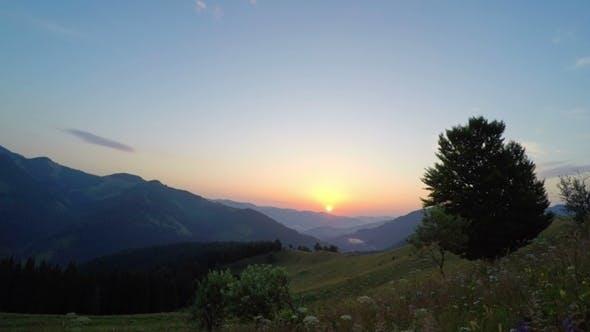 Thumbnail for Mountain Landscape. Sunrise.