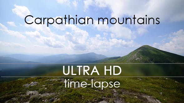 Thumbnail for Clouds Over Carpathian mountains