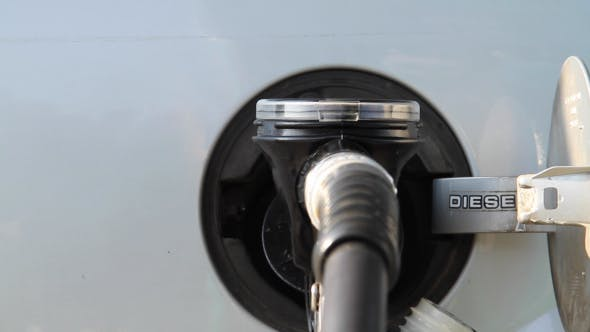 Thumbnail for Filling Of Diesel Fuel In The Car