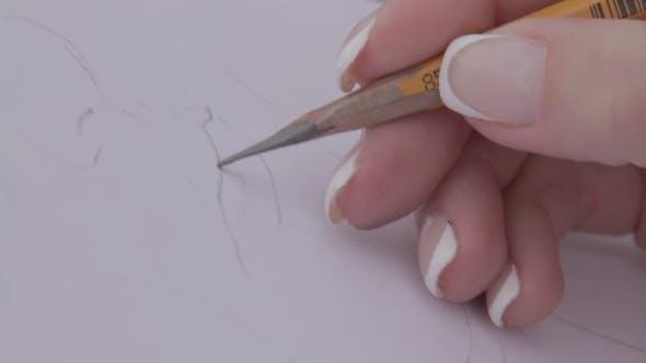 Thumbnail for Woman Draws Lips