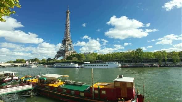 Thumbnail for Eiffel Tower Timelapse 2
