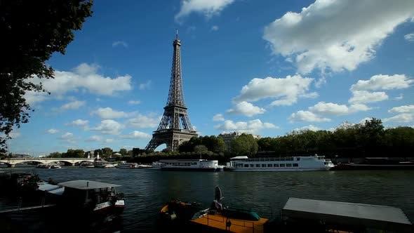 Thumbnail for Eiffel Tower Timelapse 3