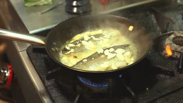 Thumbnail for Frying Fish In A Pan 6