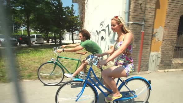 Thumbnail for Couple Cycling 11