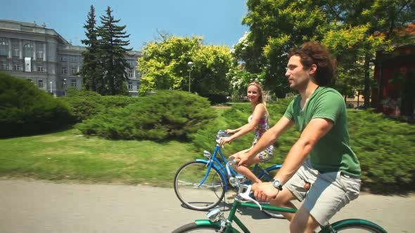 Thumbnail for Couple Cycling 14